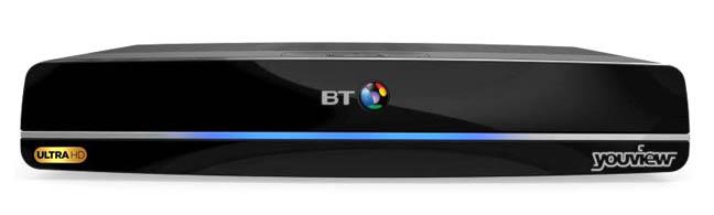 BT Ultra 4K set top box