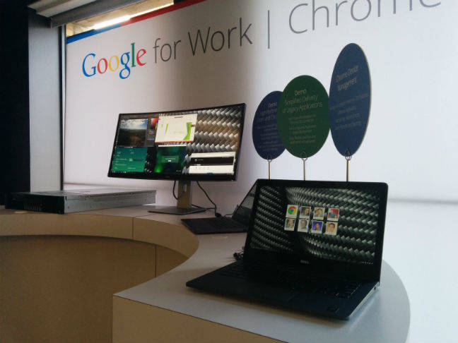 Dell's Chromebook office example
