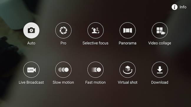 S6 Edge+ camera options