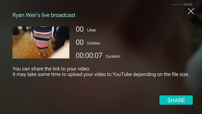 S6 Edge Plus Live Streaming