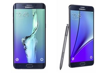 Samsung's Galaxy S6 Edge+ and GalaxyNote 5