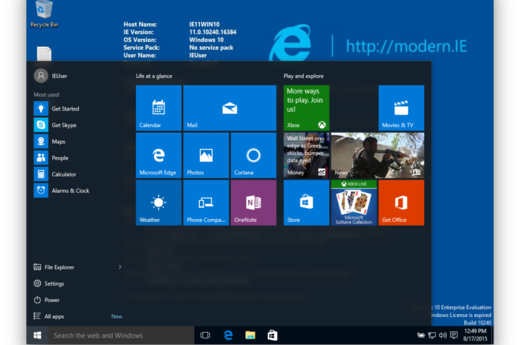 Microsoft rolls out first 'major update' to Windows 10 • The