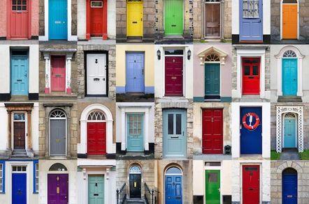 array of front doors (doorswarehouse.co.uk)
