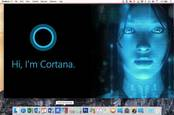 Cortana on a Mac courtesy of Parallels 11