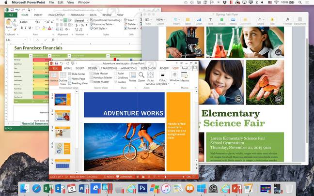Run Windows and Mac apps side by side in Parallels 11