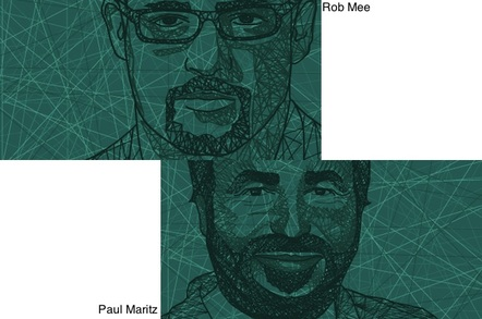 Rob Mee and Paul Maritz