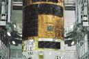 The White STork 5 space truck at Tanegashima Space Center. Pic: JAXA