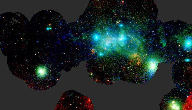 The XMM-Newton image of the Milky Way's centre