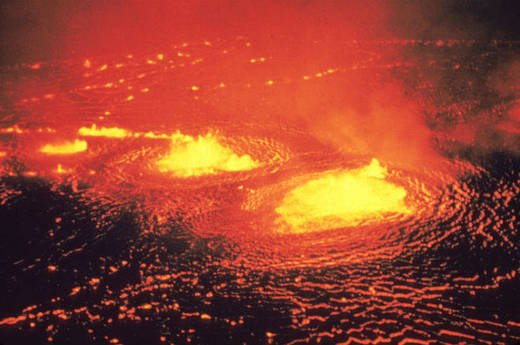 Fiery old geysers FOUND ON MOON: Volcanic past explained