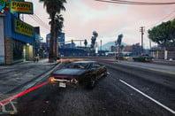 GTA V in game at 4K