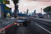 GTA V in game at 4K