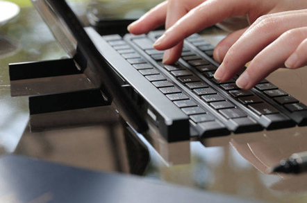Roll up, roll up, as LG launches stealthy Bluetooth keyboard
