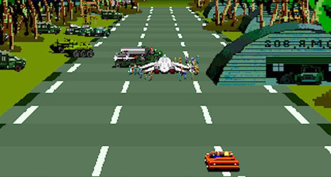 After Burner 2 Arcade edition