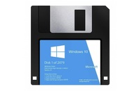 Windows 10 floppy disk