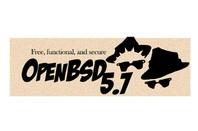 OpenBSD 5.7 logo