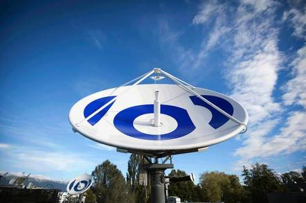 EBU Satellite Dish at HQ