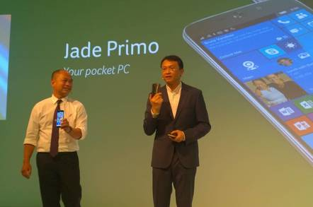 Acer's PC Phone, the Jade Primo