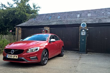 The Volvo S60 is a mile muncher