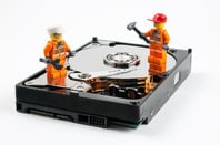 Hard disk repair by William Warby https://www.flickr.com/photos/wwarby/ cc 2.0 attribution generic https://creativecommons.org/licenses/by/2.0/