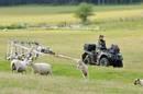 motorised magnetometer system at the Stonehenge survey. Pic credit: Stonehenge Hidden Landscapes Project