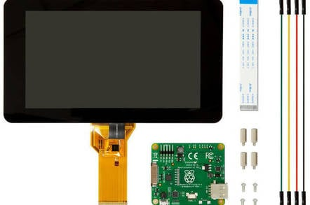 Raspberry Pi touchscreen