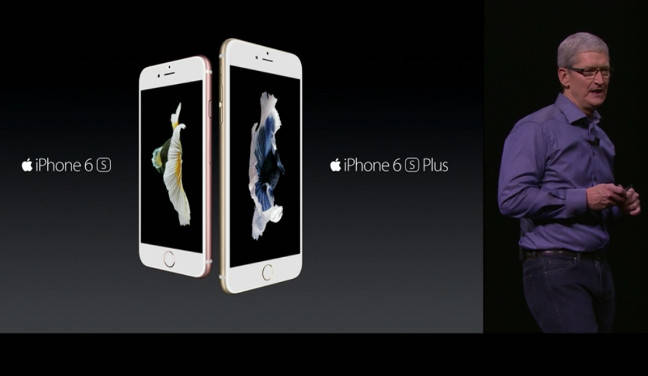 Tim Cook unveils iPhone 6S and 6S Plus