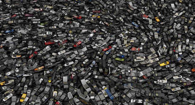 Phone landfill