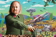 Bill Bailey - Qualmpeddler art work
