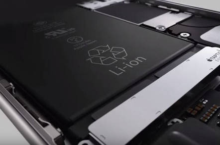 pretty nice 39bb2 71e89 Apple downgrades iPhone 6S with wimpy 1715mAh battery • The Register