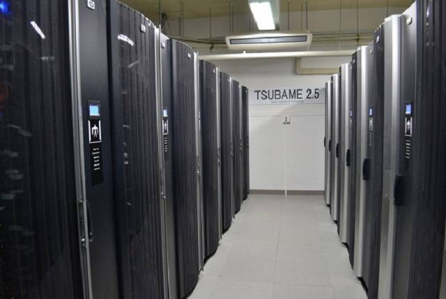 TSUBAME 2.5 at the Tokyo Institute of Technology