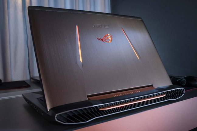 Asus ROG G752 gaming laptop