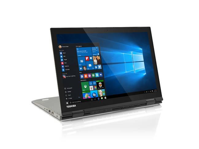 Toshiba's Radius 12 hybrid laptop/tablet