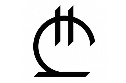 The glyph for the Georgian Lari