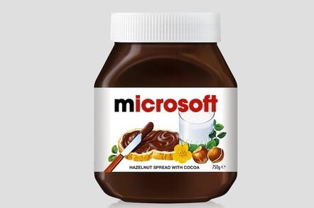 microsoft nutella