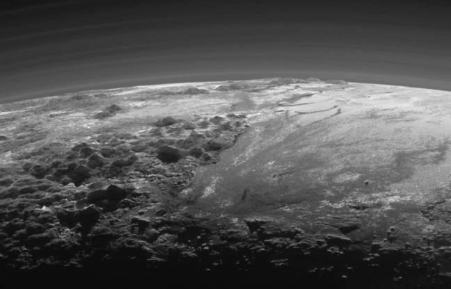 Mountains of Pluto
