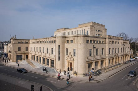 Weston Library, photo by John Cairns