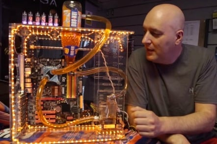 PC cooled by Irn-Bru