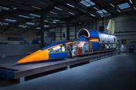 Bloodhound SSC cover off