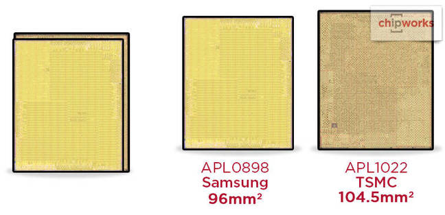 Apple A9 chips