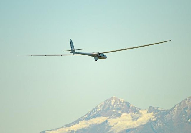 The Perlan 2 on its first flight