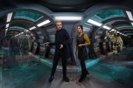 Doctor Who – Under the Lake. Image credit: BBC
