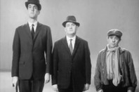 John Cleese, Ronnie Barker and Ronnie Corbett in the Frost Report Class sketch