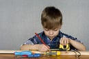 Child measuring image via Shutterstock