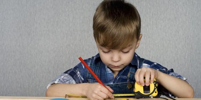 Child measuring image via Shutterstock