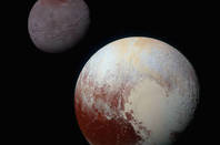 Pluto and Charon. Credits: NASA/JHUAPL/SwRI