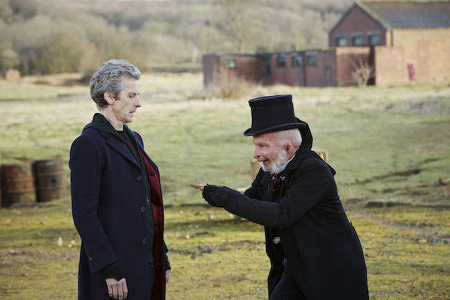 Doctor Who – Before the Flood. Pic credit: BBC