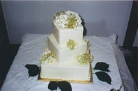 Wedding cake. Pic: Tracy Hunter