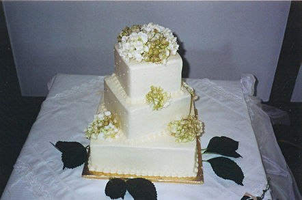 Wedding cake. Pic: Tracy Hunter