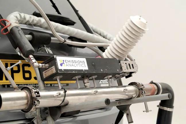 Emissions Analytics PEMS testing equipment