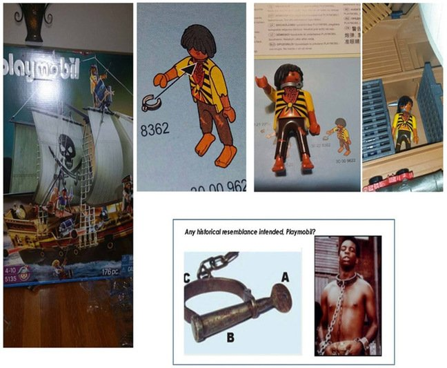 Norman's montage of the figure posted on Facebook